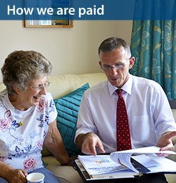 how we are paid