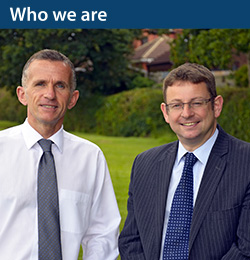 Who we are, Richard Jefferies & Kevin Lawrence